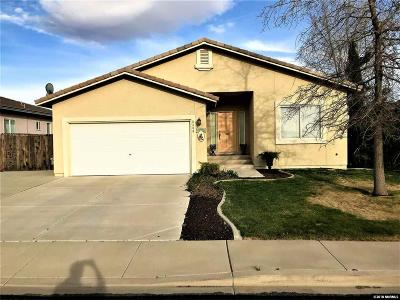 Sparks Single Family Home For Sale: 3400 City View Terrace