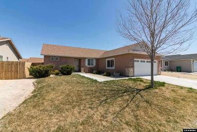 Fernley Single Family Home Active/Pending-Loan: 1829 Westward Ln