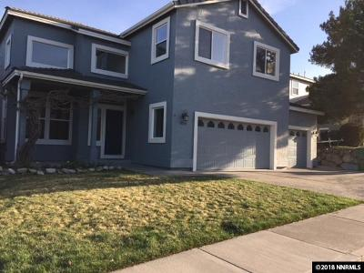 Reno Single Family Home For Sale: 8712 River Front Court