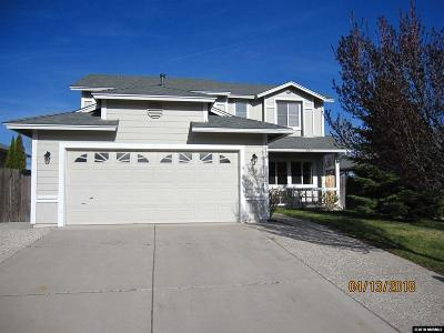 Reno Single Family Home Active/Pending-Loan: 1080 Crosswater Drive