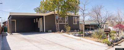 Reno Single Family Home Active/Pending-Call: 1670 Grandview Ave