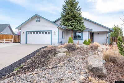 Minden Single Family Home New: 1289 Lariat Ct