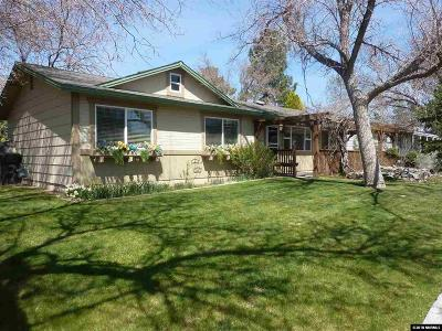 Gardnerville Single Family Home Active/Pending-Loan: 1340 Topaz