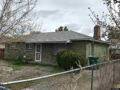 Reno Single Family Home New: 1980 Helena Avenue