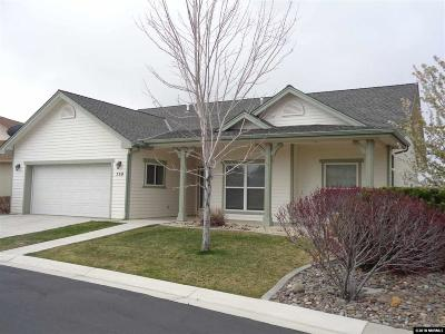 Gardnerville Single Family Home Back On Market: 759 Ellie's Way