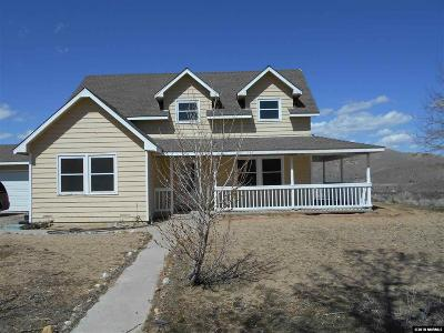 Reno Single Family Home Active/Pending-House: 16650 Red Rock Road