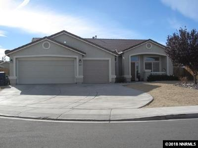 Fernley Single Family Home New: 1065 Greenbrook