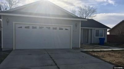 Fernley Single Family Home New: 522 St Louis