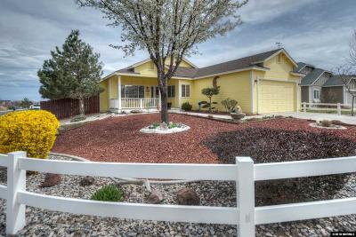 Fernley Single Family Home New: 940 Aster Lane