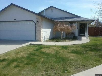 Carson City Single Family Home New: 965 Parkview Court