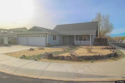 Fernley Single Family Home New: 801 Fairwood