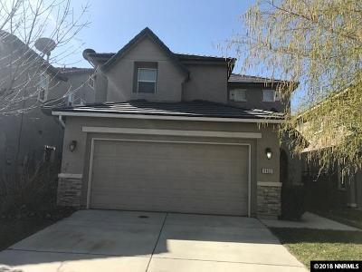 Sparks Single Family Home For Sale: 3965 Dominus Drive