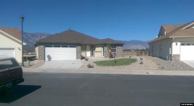 Gardnerville Single Family Home For Sale: 1205 W Cottage Loop