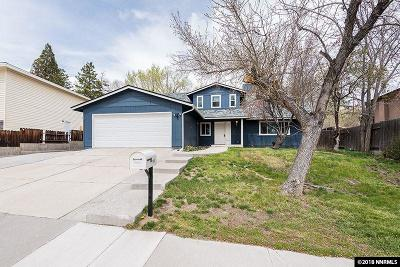 Reno Single Family Home Active/Pending-Loan: 1960 Severn Drive