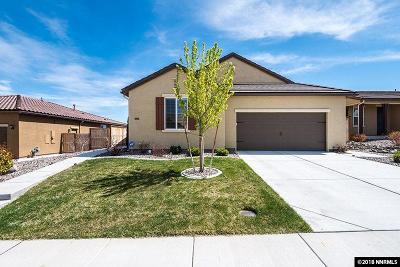 Sparks Single Family Home For Sale: 2885 Iridium Ct.