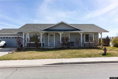 Sparks Single Family Home For Sale: 1426 Nightingale Way