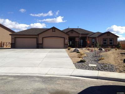 Sparks Single Family Home New: 9701 Smoke Wagon Dr