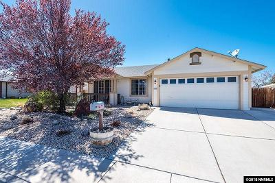 Sparks Single Family Home New: 4925 Pradera