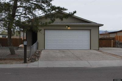 Fernley Single Family Home New: 140 Comstock Drive