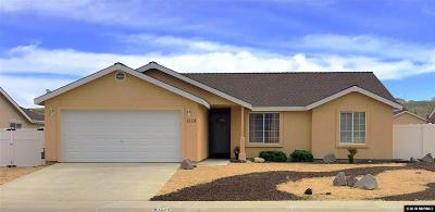 Fernley Single Family Home New: 1329 White Bluffs Circle