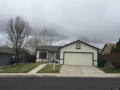 Reno Single Family Home New: 8610 Beechcraft Drive