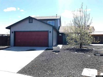 Fernley Single Family Home New: 152 Desert Springs Ct.