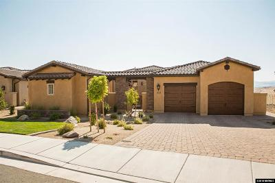 Reno Single Family Home New: 3130 Vista Favoloso