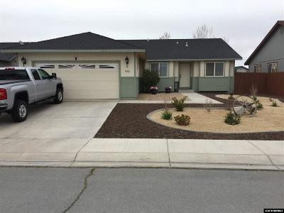 Fernley Single Family Home New: 936 Jessica Lane