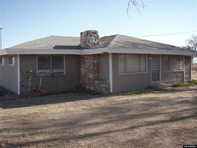 Fallon Single Family Home For Sale: 12300 Carr Lane
