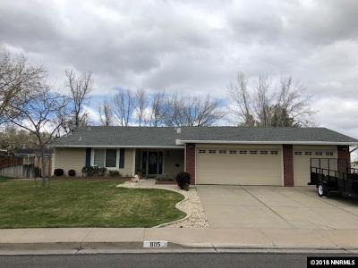 Reno Single Family Home For Sale: 805 Singingwood