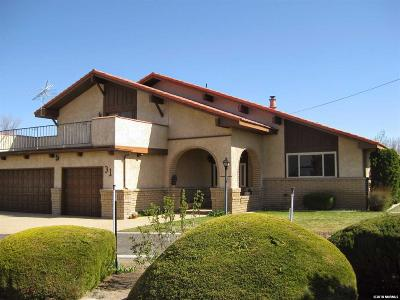 Yerington Single Family Home Active/Pending-Loan: 31 Fairway