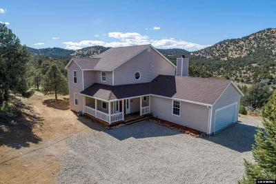 Reno Single Family Home Active/Pending-Loan: 1900 Castle Peak