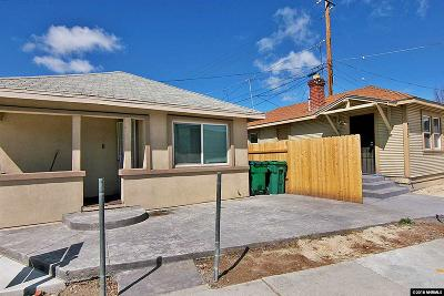 Washoe County Multi Family Home For Sale: 715/725 Valley Road