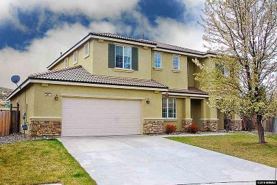 Reno, Sparks, Carson City, Gardnerville Single Family Home Extended: 3671 Hawkings Court