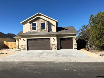 Fernley Single Family Home For Sale: 411 Dog Leg Drive