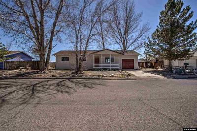 Yerington Single Family Home For Sale: 511 Sandy