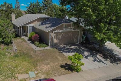 Reno Single Family Home Price Reduced: 1216 Canyon Creek Road