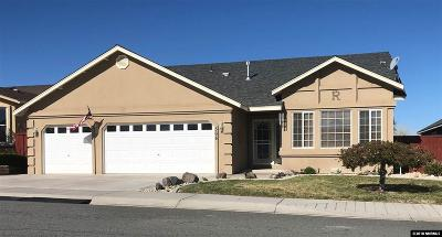 Fernley Single Family Home For Sale: 568 Wedge Lane
