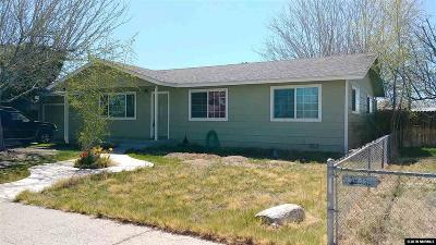 Fallon Single Family Home For Sale: 470 Cindy Lane