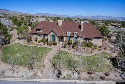 Reno Single Family Home Active/Pending-House: 4810 S Saddlehorn Drive