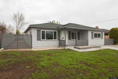 Reno Single Family Home New: 915 Brentwood
