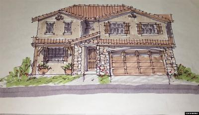 Minden Single Family Home For Sale: 985 Bella Rosa #Lot 55