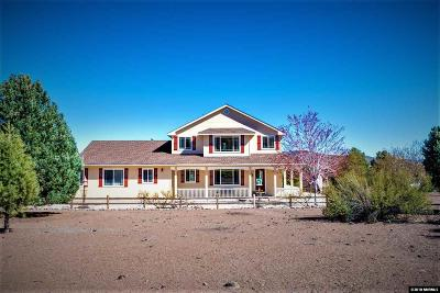 Gardnerville Single Family Home Active/Pending-Loan: 3283 Reese Lane