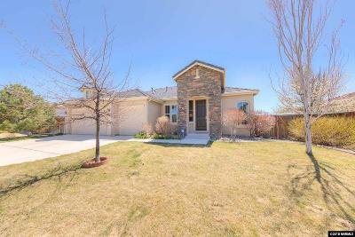 Sparks Single Family Home For Sale: 3910 Desert Fox