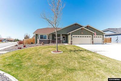Sparks NV Single Family Home New: $489,000