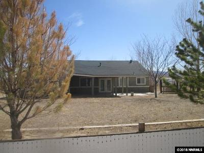 Yerington Single Family Home Active/Pending-Loan: 11 Brown Lane