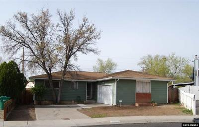 Reno NV Single Family Home Back On Market: $270,500