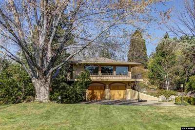 Reno Single Family Home New: 2105 Parkridge Circle
