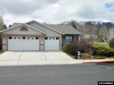 Reno Single Family Home New: 7990 Monterey Shores Drive