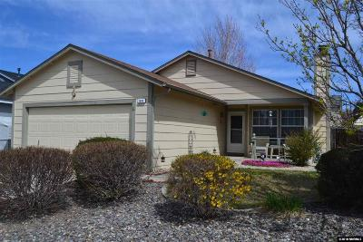 Carson City Single Family Home New: 1644 Maple Creek Lane